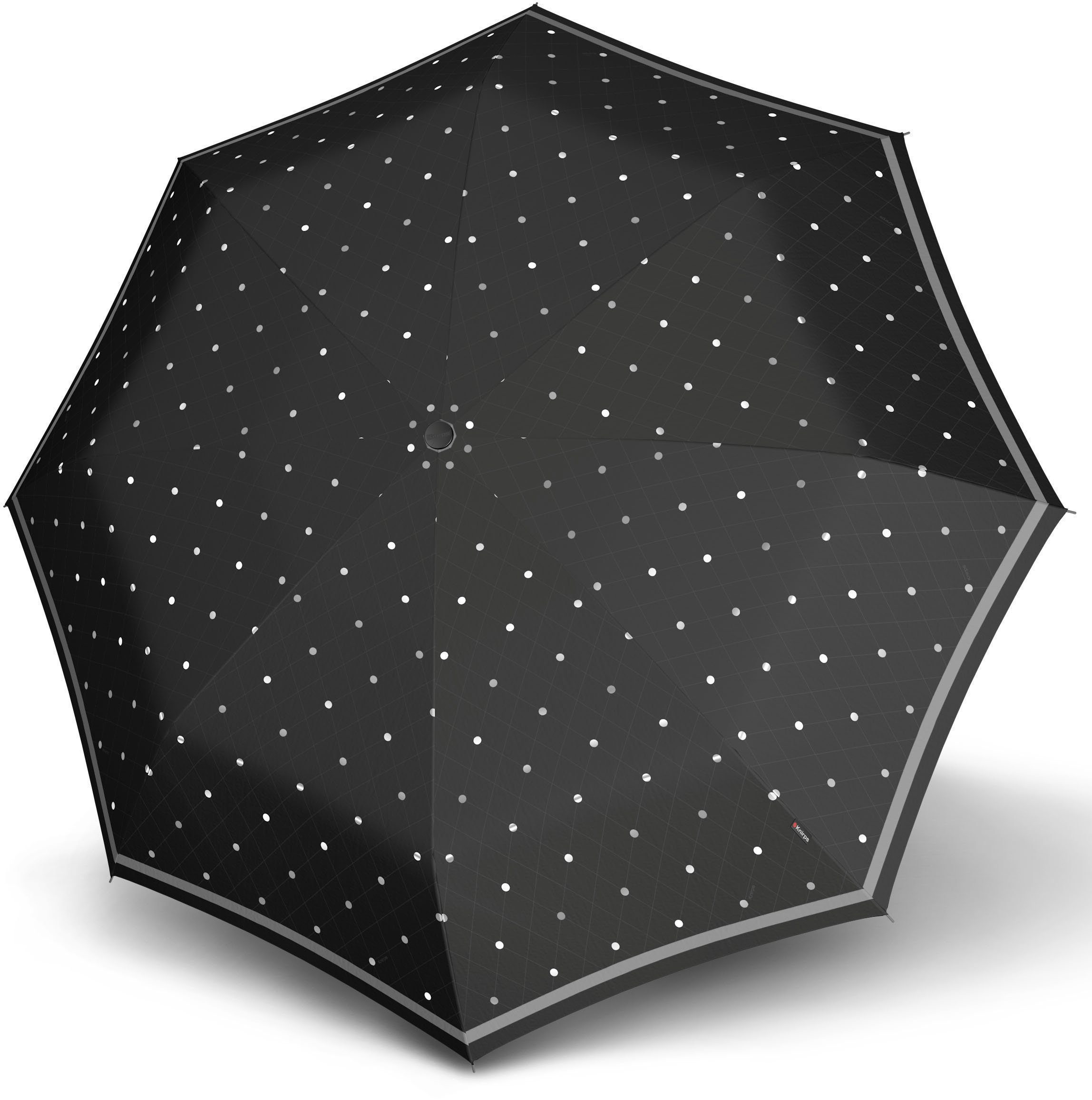 Knirps® Regenschirm, »Stockschirm Stick Long AC reflective dots«